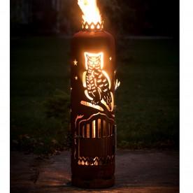 Feuerstelle Klassische Eule