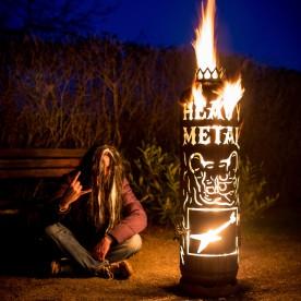 """Feuerstelle Heavy Metal """"Vorführobjekt"""" - 1x gebraucht"""
