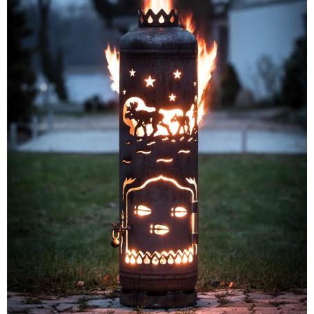 Feuerstelle Elche