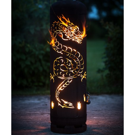 "Feuerstelle ""China-Drache"""