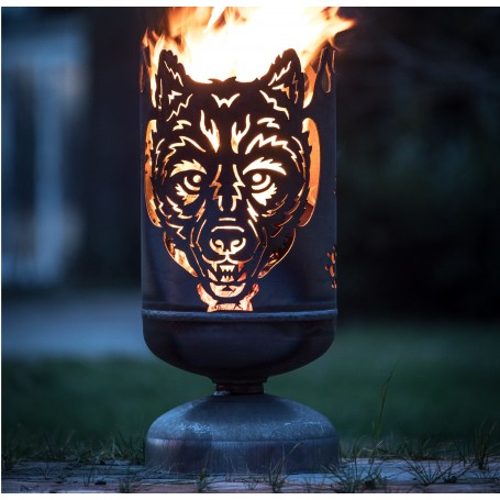 Feuerkorb Wolf