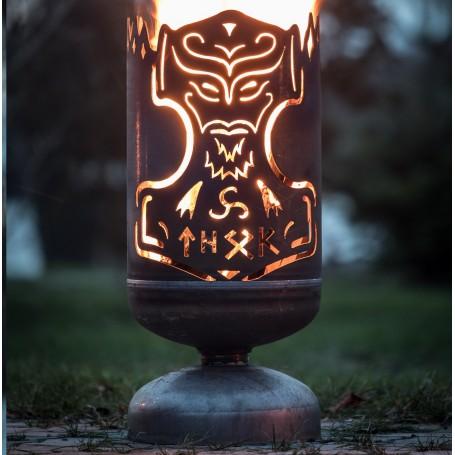 Feuerkorb Thors Hammer