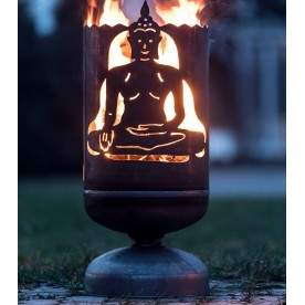 Feuerkorb Buddha