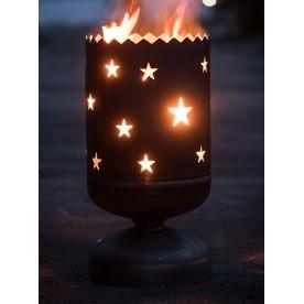 Feuerkorb Sterne