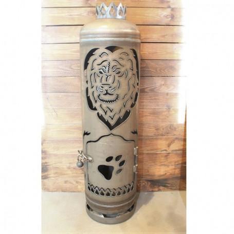Feuerstelle Löwe