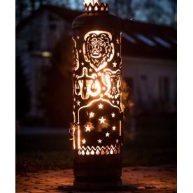 Feuerstelle Sternzeichenturm