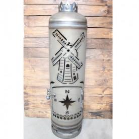 Feuerstelle Windmühle