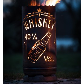 kleine Feuertonne Whiskey