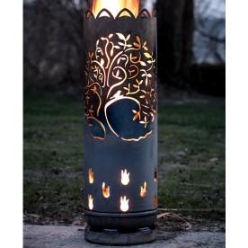Feuertonne Lebensbaum