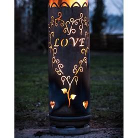Feuertonne Liebe