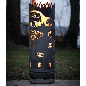 Feuertonne Wildschweine