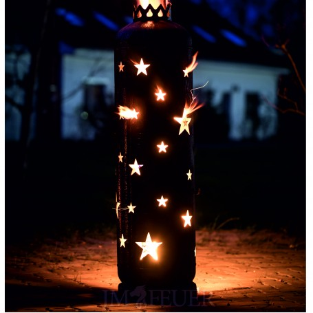 Feuerstelle Sterne