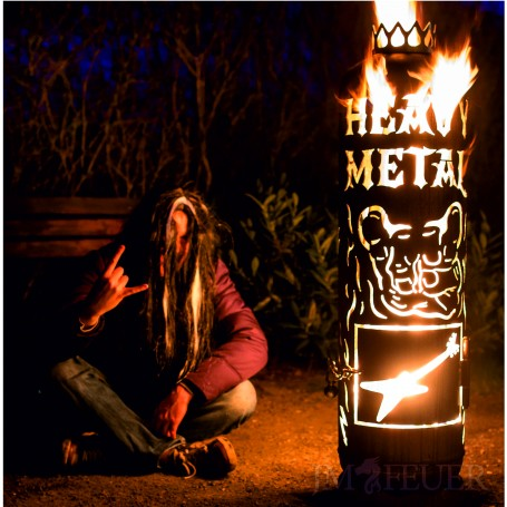 Feuerstelle Heavy Metal