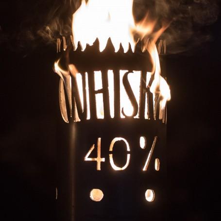 Gartenfackel Whiskey Old Brand (ohne Stiel)