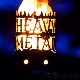 Gartenfackel Heavy Metal (ohne Stiel)