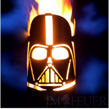 """Gartenfackel """"Star Wars Lord Vader"""" incl. Stiel, 1x Wachsrolle und 32x Anzünder"""