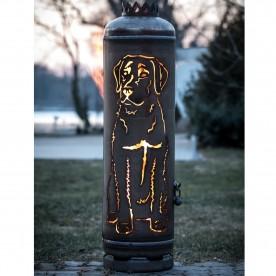 Feuerstelle Labrador