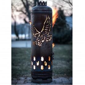 Feuerstelle Adler