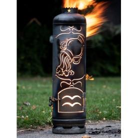 Feuerstelle Sternzeichen Wassermann
