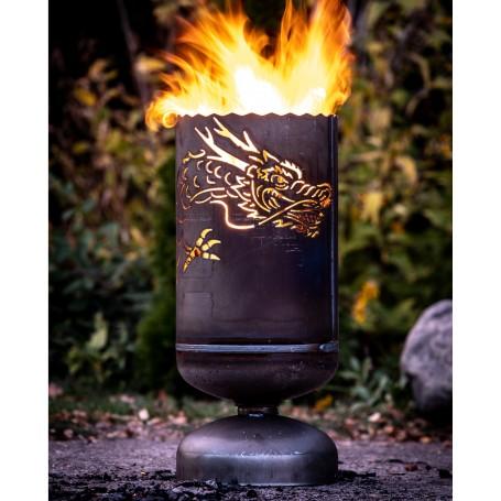 Feuerkorb Chinadrache