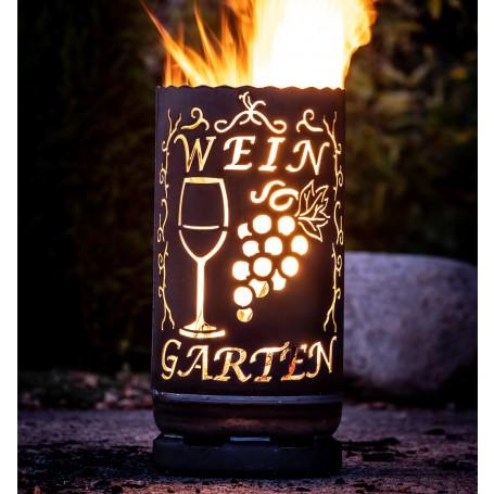 kleine Feuertonne Weingarten