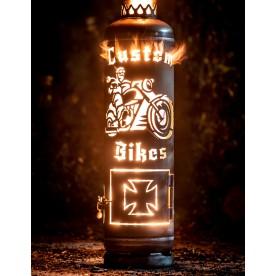 Feuerstelle Custom Bikes