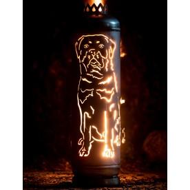 Feuerstelle Rottweiler