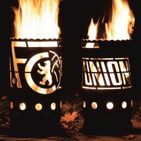 kleine Feuertonne 1 FC Union