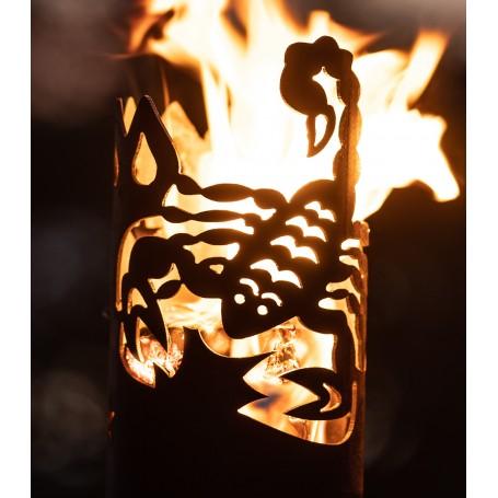 Gartenfackel Sternzeichen Skorpion (ohne Stiel)