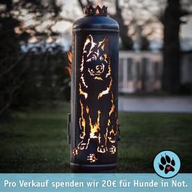 Feuerstelle Altdeutscher Schäferhund