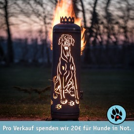 Feuerstelle Dobermann