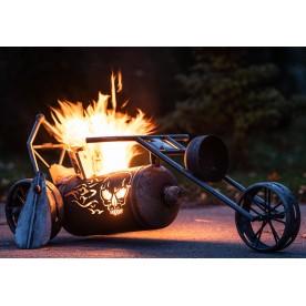 große Trike-Feuerstelle
