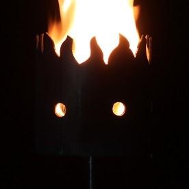 Gartenfackel Flammen zeitlos 2 (ohne Stiel)