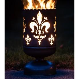 Feuerkorb französische Lilie