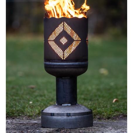 Feuerkorb HSV klein