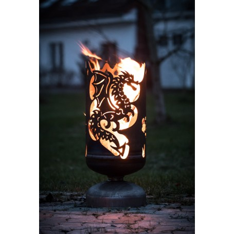 Feuerkorb Drache