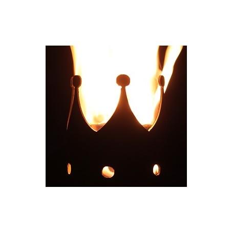 Gartenfackel Krone (ohne Stiel)