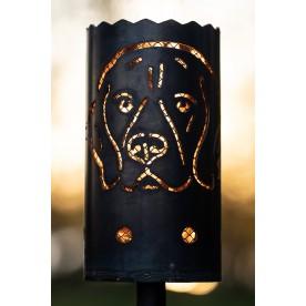 Gartenfackel Hund Beagle ( ohne Stiel )