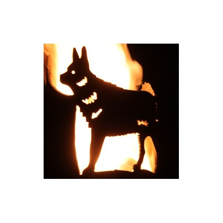 Gartenfackel Fuchs (ohne Stiel)