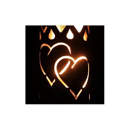 Gartenfackel Herzen (ohne Stiel)