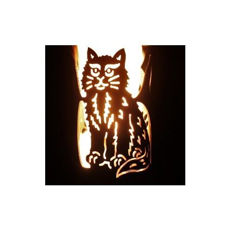 Gartenfackel Katze (ohne Stiel)