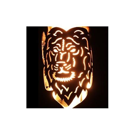 Gartenfackel Sternzeichen Löwe (ohne Stiel)