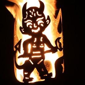 Gartenfackel Teufel 2 (ohne Stiel)