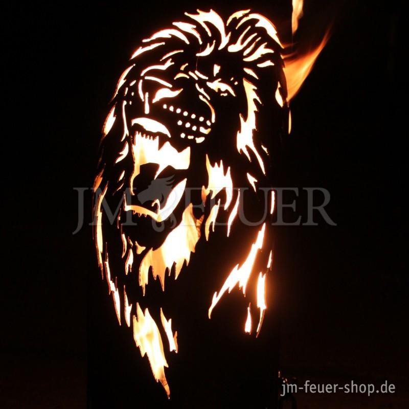 Jm Feuer Shop feuerstelle löwe brüllend feuerstellen