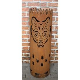 Feuertonne Wolf