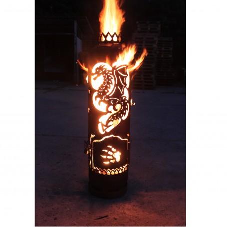 Feuerstelle Drache