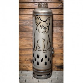 Feuerstelle französische Bulldogge