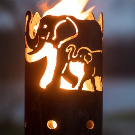 Gartenfackel Elefant (ohne Stiel)