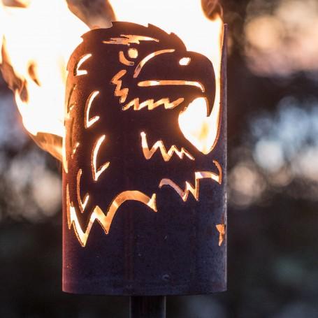 Gartenfackel Adler (ohne Stiel)