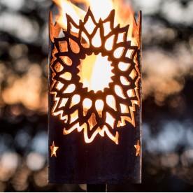Gartenfackel Sonne (ohne Stiel)